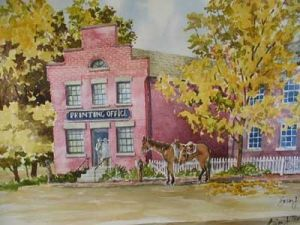 John Taylor Printing Office, Nauvoo, IL