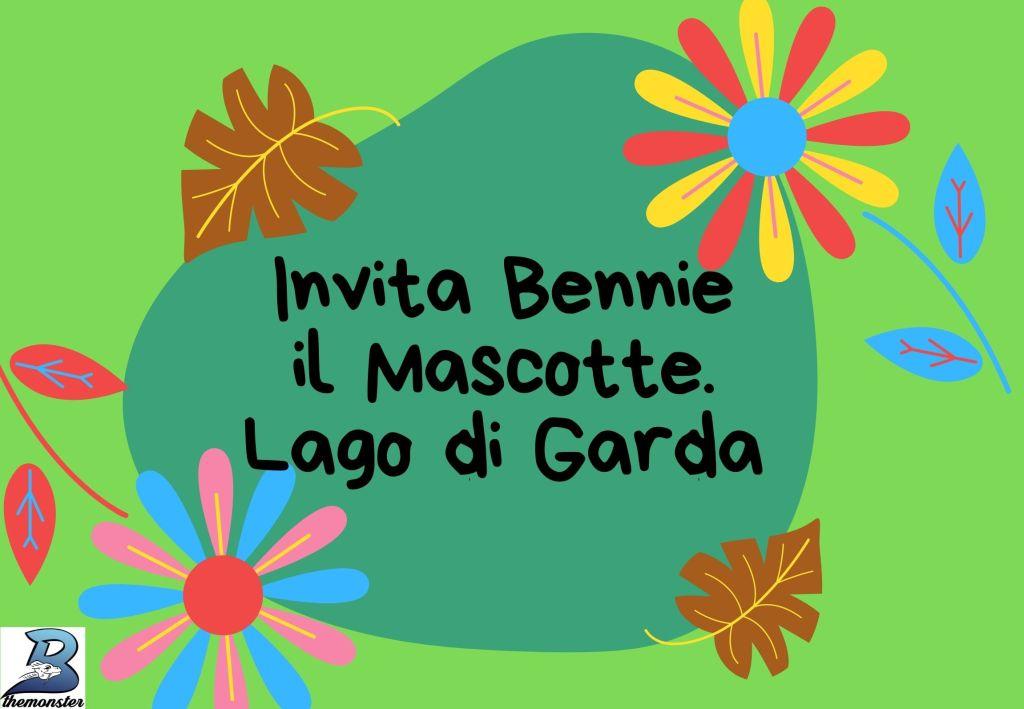 eventi con bennie il mostro e mascotte del lago di Garda Bthemonster.com