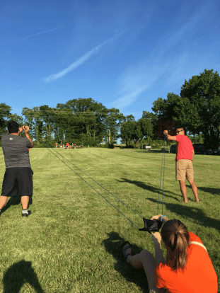 software engineering intern - water ballon launching