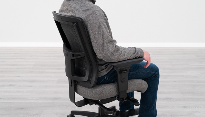 neck pain sitting at a computer