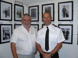 Viv Head & Ch Supt Peter Davies