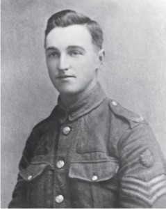 William Huddart in army uniform