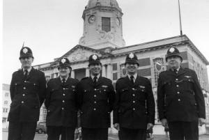SHB Police in 1980
