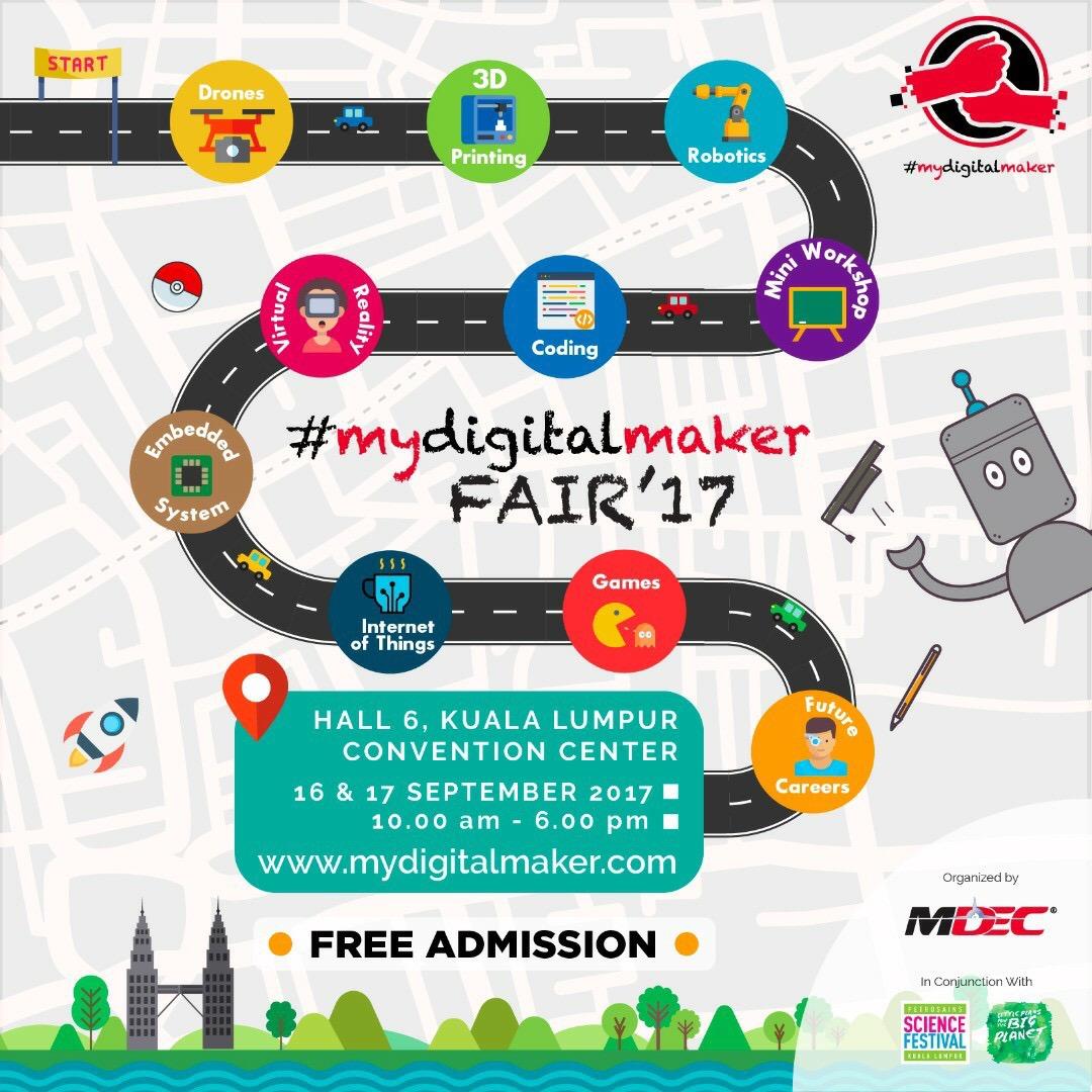 My Digital Maker Fair 17