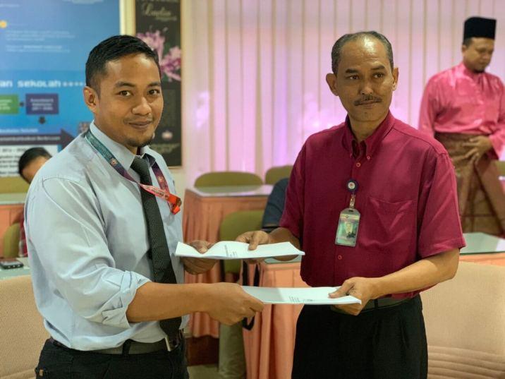 Pertukaran En Mohd Faiz Ismail dari Unit Perkhidmatan Sumber Pendidikan (UPSP) ke Unit Kewangan & Perolehan (UKP)