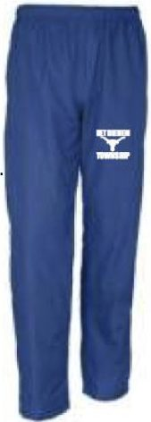 Sport Tek Wind Pant Btpta * 100% polyester * mesh lining above knees, nylon lining below for easy on/off * elastic waistband with drawcord * side. btpta