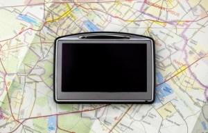 Gps On Map Img