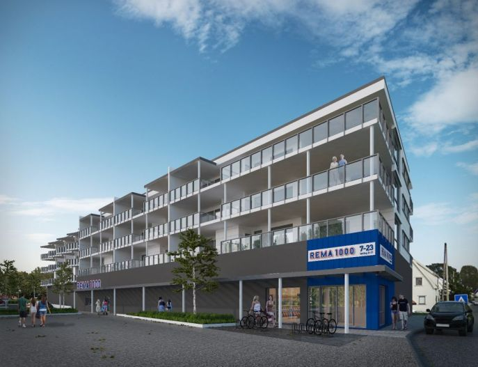 Boligblokk Vigrestad Hå01