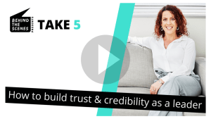 How to build trust and credibility as a leader