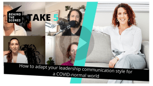 Adapting your leadership communication style