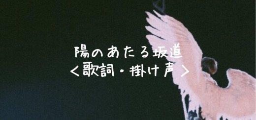 D-LITE(ディライト) 陽のあたる坂道【歌詞】