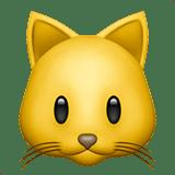 【絵文字】猫 Cat Face