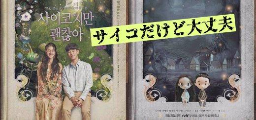 【韓国ドラマ】サイコだけど大丈夫の相関図❤︎キャスト一覧!