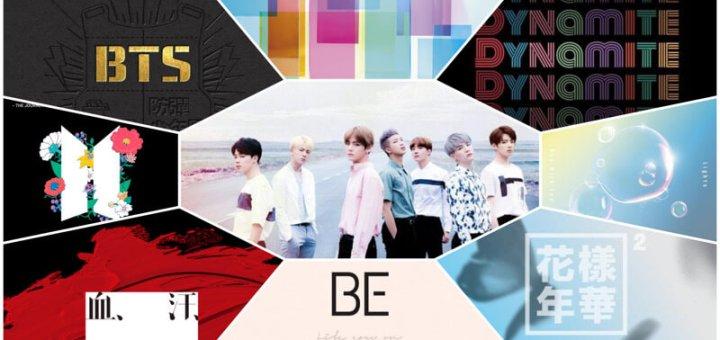 防弾少年団(BTS)が今までに出したアルバム一覧・曲