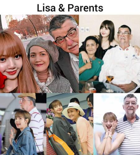 リサの家族写真