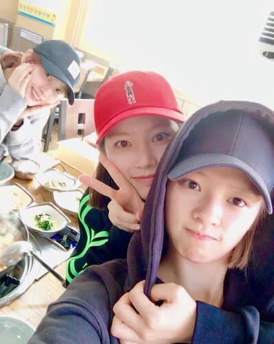 ジョンヨンの家族写真