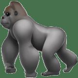 【絵文字】ゴリラ gorilla