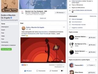 Oliver Onions e la condivisione della scenografia animata