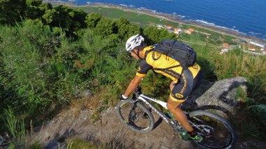 Santa Tecla y montes de A Guarda