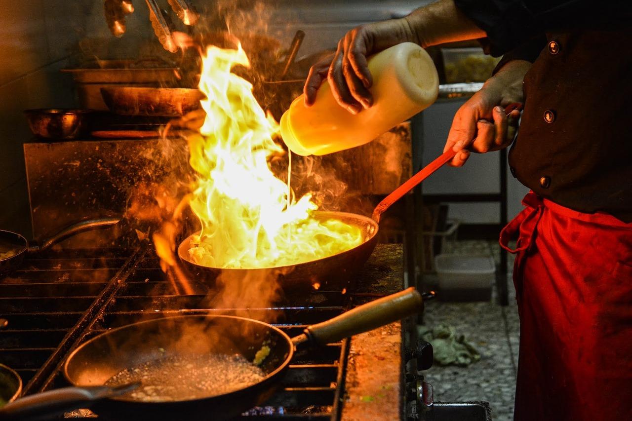 Kitchen Organization In Full Service Restaurants Reducing