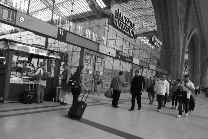 Bahnhof, Leipzig