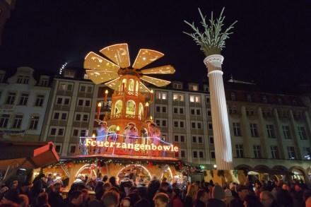 Weihnachtsmarkt, Leipzig