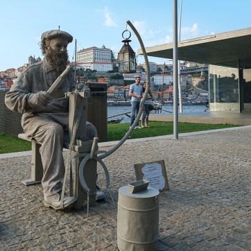 lebende Statue, Porto