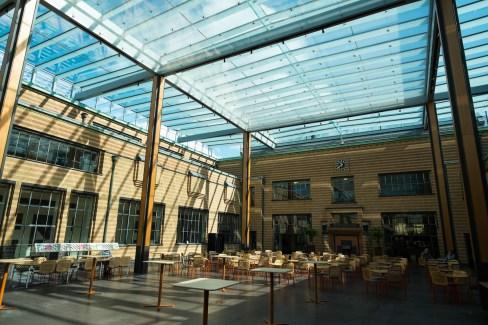 Atrium im Gemeentemuseum, Den Haag