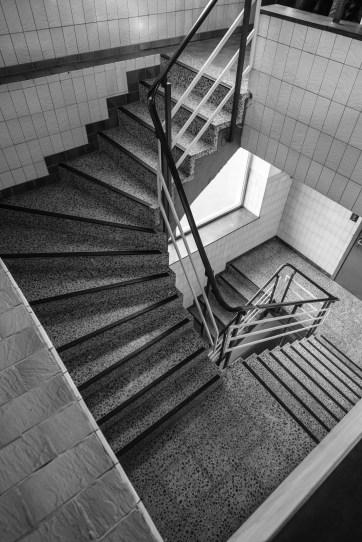 Treppenhaus Brauerei Hoepfner