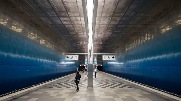 U-Bahn Station Überseequartier - Hamburg