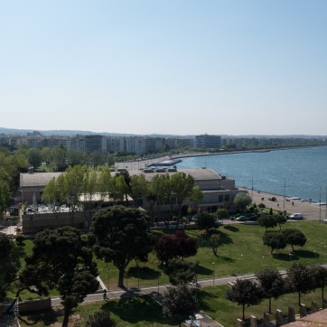 """Blick vom """"weissen Turm"""", Thessaloniki"""