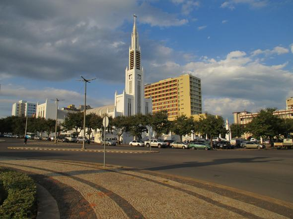 Catedral e Hotel Rovuma