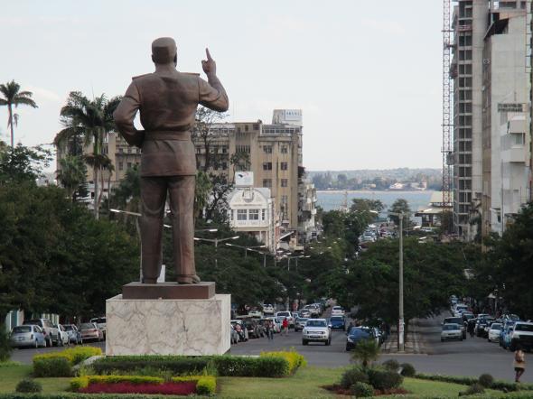 Estátua Samora Machel