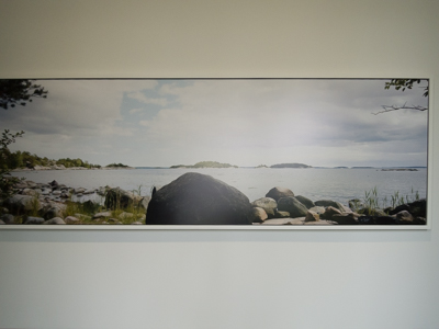 Stuart Kipper photo at the Artipelag museum