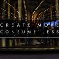 Create more consume less photo by Mats Andersson, Stenhamra