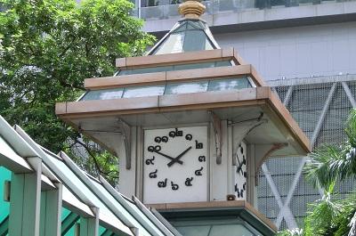 タイ王国セントラルの時計台