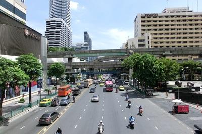タイ王国バンコクのメインロード2