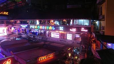 タイ王国バンコクのナナプラザ全景