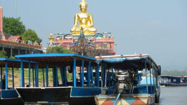 タイ王国ゴールデントライアングルメコン川
