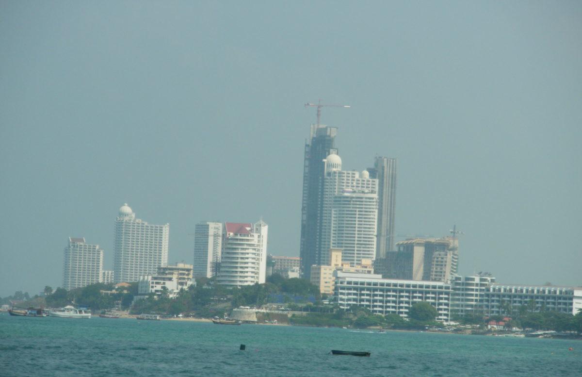 タイ王国パタヤのノース地区拡大
