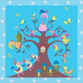 Tree Top Tango Play Mats