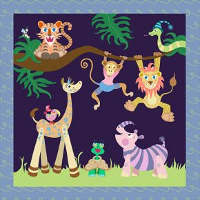 Jungle Fever Baby Play Mat