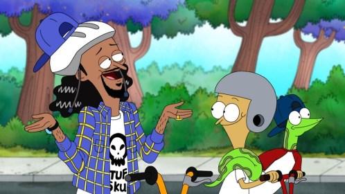 Snoop doing his best Kanye impression.