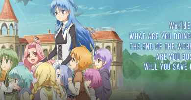 "English Dub Review: WorldEnd: What are you doing at the end of the world? Are you busy? Will you save us? ""Dice In Pot"""