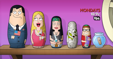 "Review: American Dad ""Wild Women Do"""
