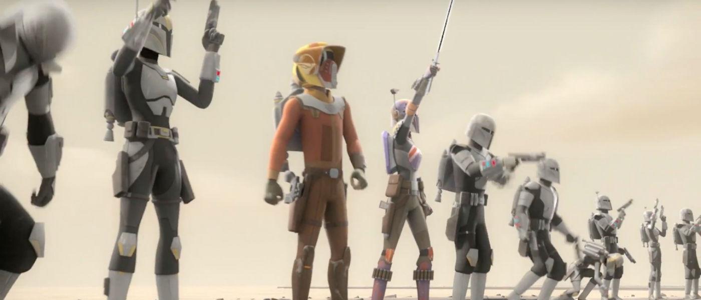 Review Star Wars Rebels Heroes Of Mandalore Bubbleblabber
