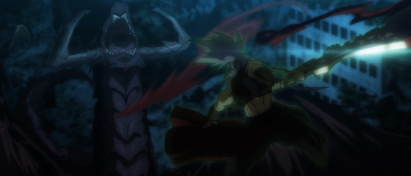 Gugina vs. Black Dragon