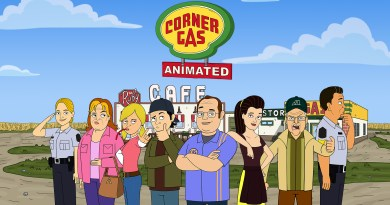 Corner Gas Animated Cast & Crew Headed To FanExpo Canada 2019