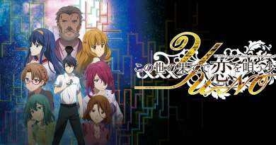 """English Dub Review: YU-NO: A Girl Who Chants Love at the Bound of This World """"Beyond A Pale Light"""""""