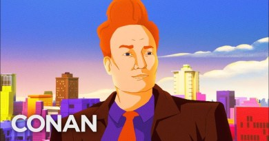 Watch the Animated Cold-Open For Conan O'Brien's Return To SDCC 2019